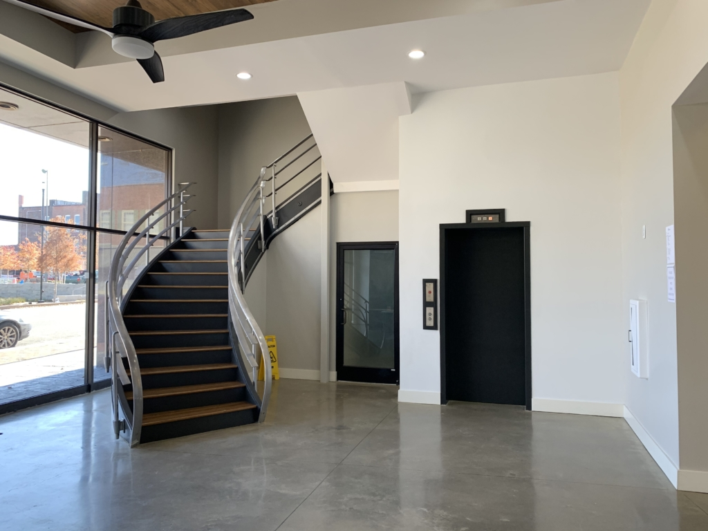 North Second St. Building Lobby